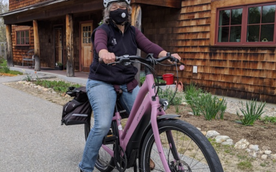 It's National Bike Month – Learn about our Steering Committee Member & Her E-Bike