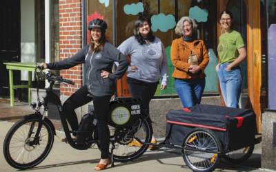 Prime Roast Begins Local Deliveries with E-bike Iris