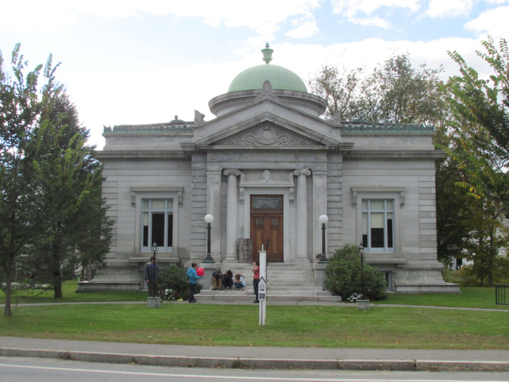 Shedd Porter Library in New Hampshire