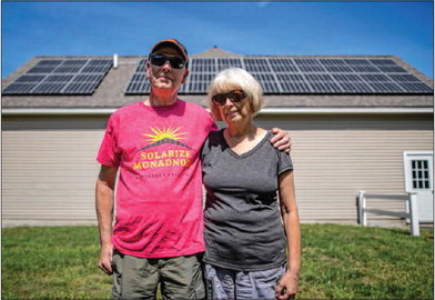 The Push for Renewables – Solarize Monadnock Campaign Just the Start of Local Clean Energy Effort | Monadnock-Ledger Transcript